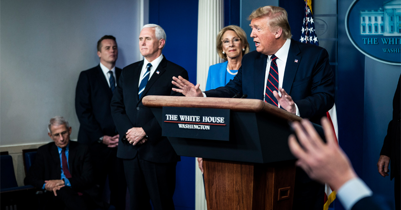 Trump Focuses On American Business In Coronavirus White House Briefing -- March 31