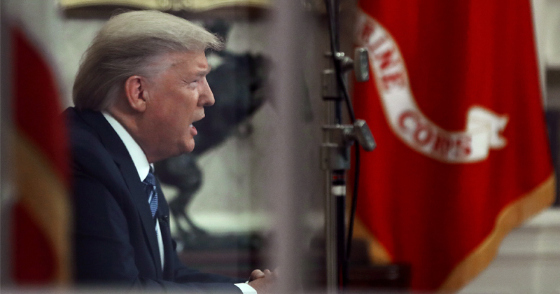Watch: Trump Answers Questions on Coronavirus at White House