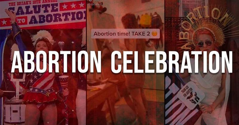 No One Celebrates Abortion...Right?