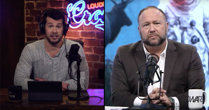 Alex Jones Talks Censorship, 2020 Race With Steven Crowder