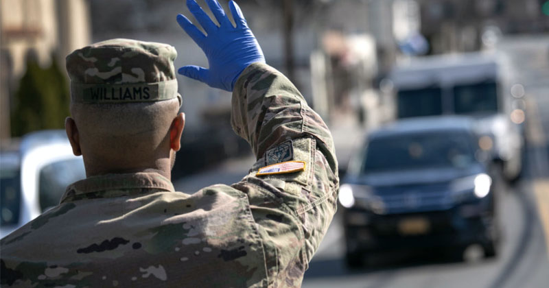 US Army Enters New York to Convert Hotels and Dorms to Hospitals Amid COVID-19 Pandemic
