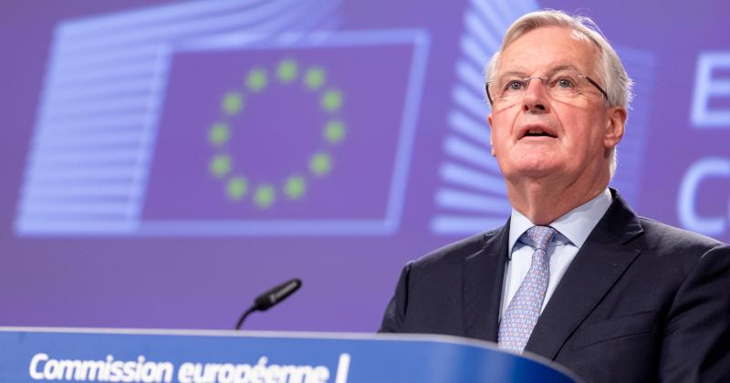 Top EU Official Tests Positive For Coronavirus