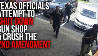 Exclusive! Texas Gun Shop Owner Stood His Ground When Armed Police & Code Enforcement Ordered Him To Close