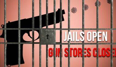 Gun Stores Close. Prisons Open.