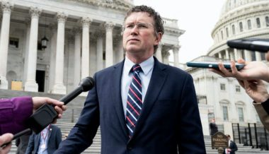 Rep Thomas Massie Stands Up For The Constitution, Trump Calls For Him to Be 'Thrown Out' Of GOP