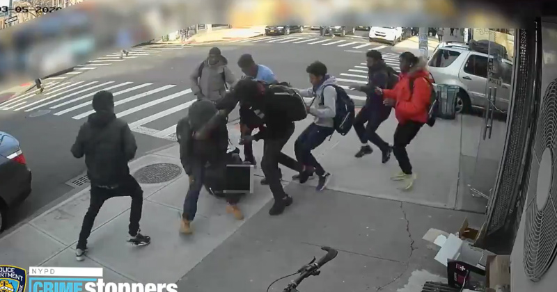 Video: Mob of Teens Savagely Beat 15-year-old Girl in NY