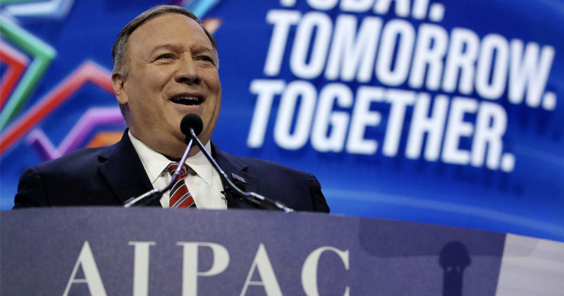 2 Individuals At AIPAC Conference With Pence, Pompeo, McConnell & Others Test Positive For Covid-19