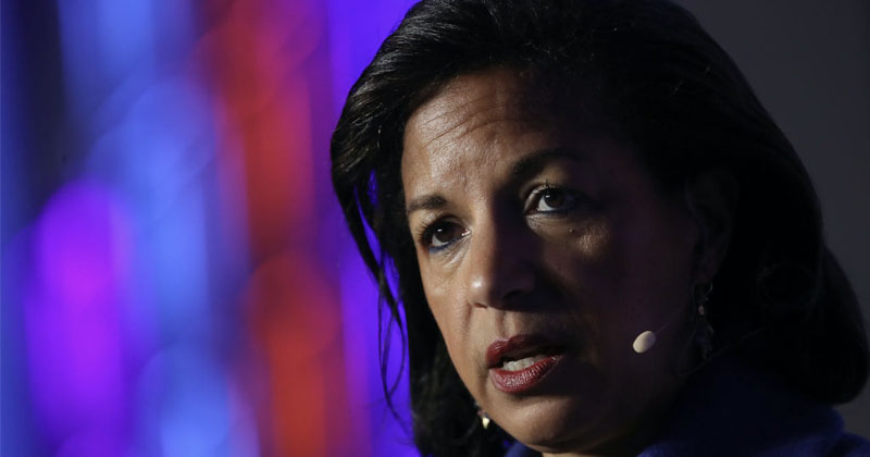 Susan Rice Retweets Call To Remove Trump From Office Over Coronavirus