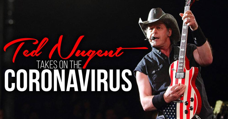 'Remove Trump For Coronavirus Response,' Says Deep State + Ted Nugent Live
