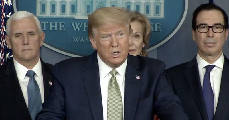 Live: President Trump Holds Coronavirus Task Force Briefing