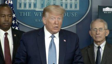 Watch: President Trump Holds Coronavirus Task Force Conference