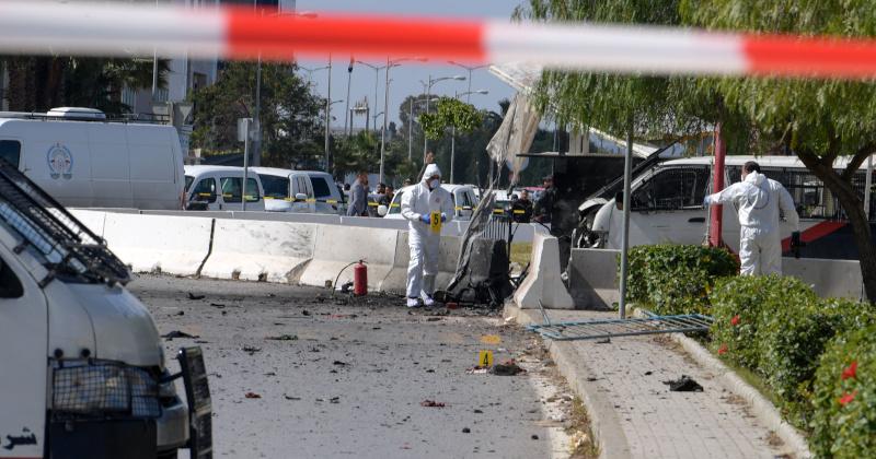 Suicide Bomber Detonates In Front of US Embassy in Tunisia