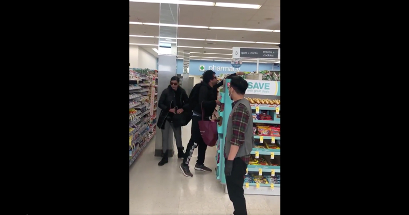 Watch: Couple Casually Loots Coronavirus Supplies from San Francisco Walgreens