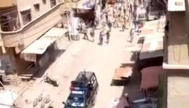 Video: Mob Violently Chases Police Away After Authorities Try to Close Mosque