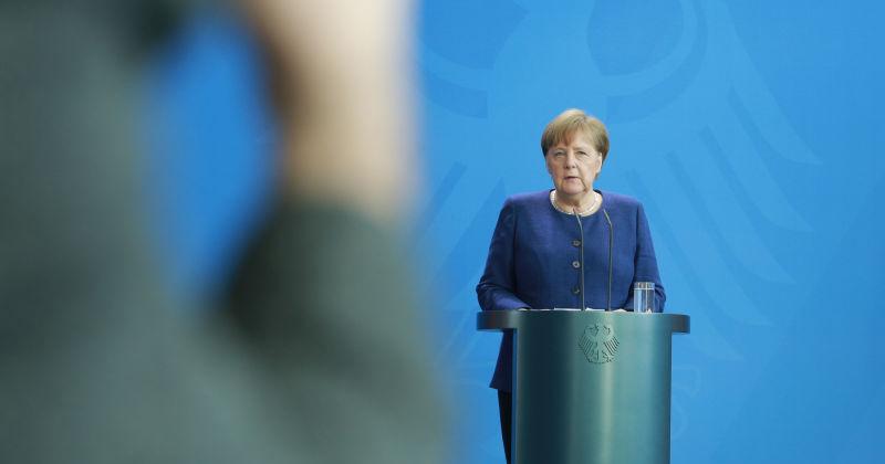 EU faces 'biggest test yet,' Merkel says, as coronavirus strains continental bonds