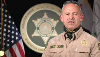 Calif. Sheriff: We'll Arrest Anyone Not Wearing a Mask