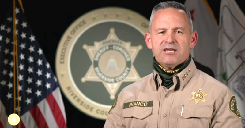 Calif. Sheriff: We'll Arrest Anyone Not Wearing a Mask