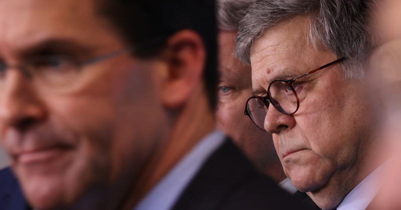 AG Barr 'Very Concerned' Over Bill Gates' 'Digital Vaccine Certificates,' Calls Lockdown Measures 'Draconian,' Wants Gone by May