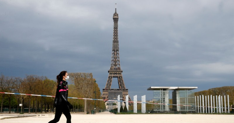 Paris Bans Exercise as Lockdown Tightens