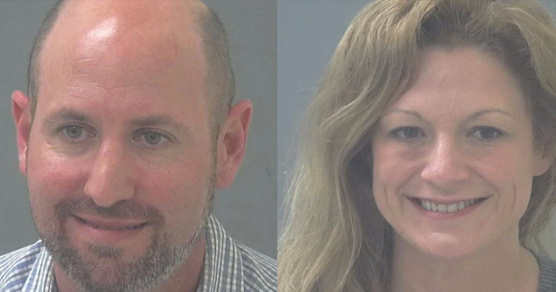 Gynecologist Couple Caught Stealing Trump Flag From Elderly Neighbor