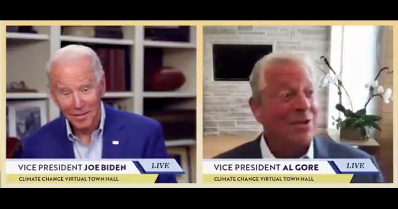 Video: Joe Biden & Al Gore Gleefully Promote Ban on Gas-Powered Cars