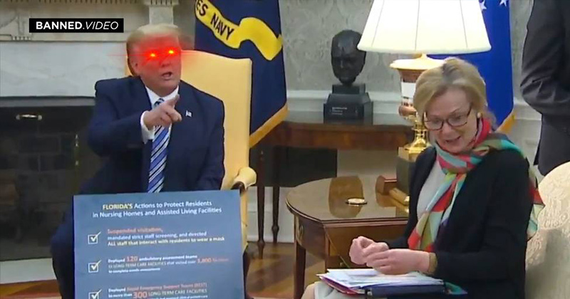 Video: Trump Destroys Lying Yahoo Reporter In Real Time