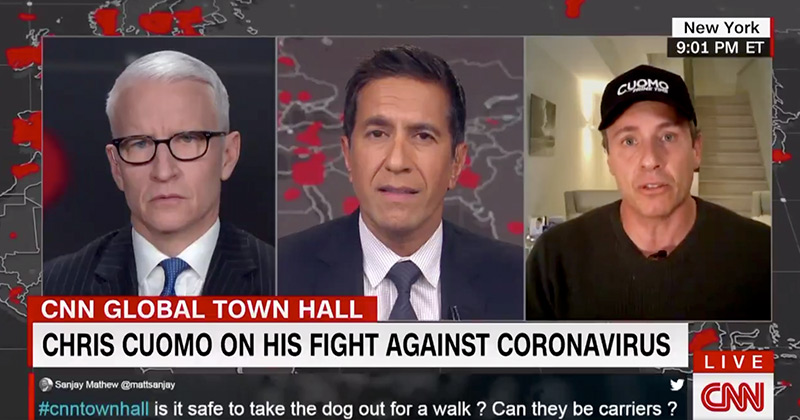 """CNN's Cuomo Says Health Care Workers Call COVID-19 """"The Beast"""" - Describes """"Wicked Phantasmagorical"""" Visions"""