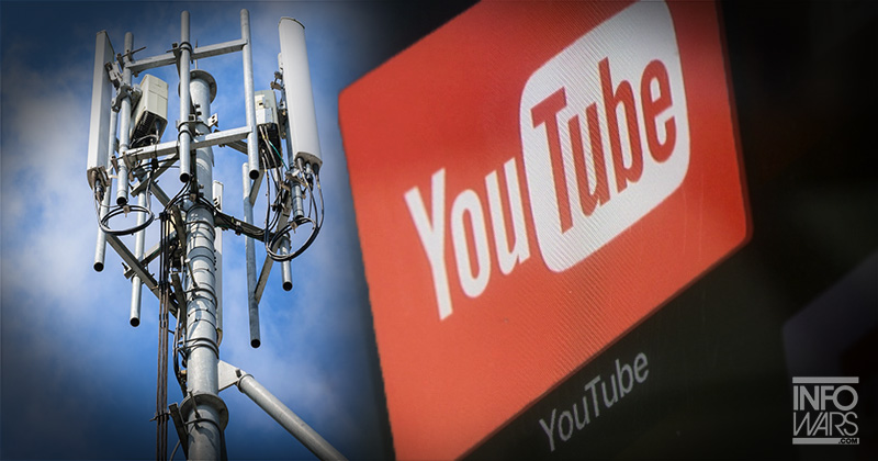 YOUTUBE RESTRICTS CONTENT ABOUT 5G DANGERS AFTER MULTIPLE ATTACKS ON TOWERS 4-7-20-tube-5g