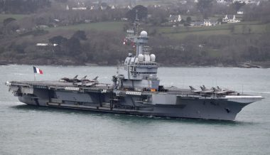France's Only Aircraft Carrier Cuts Middle East Mission After Sailors Get Coronavirus Symptoms