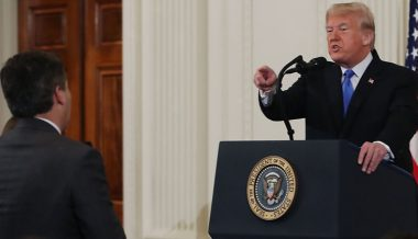 Video: Fake News Acosta Asks Trump If He Has 'Investments in Hydroxychloroquine'