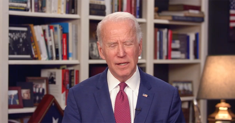 Biden: 'Coronavirus Is Helping My Numbers'
