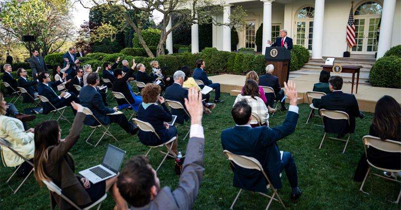 Watch: Trump Halts W.H.O. Funding -- April 14