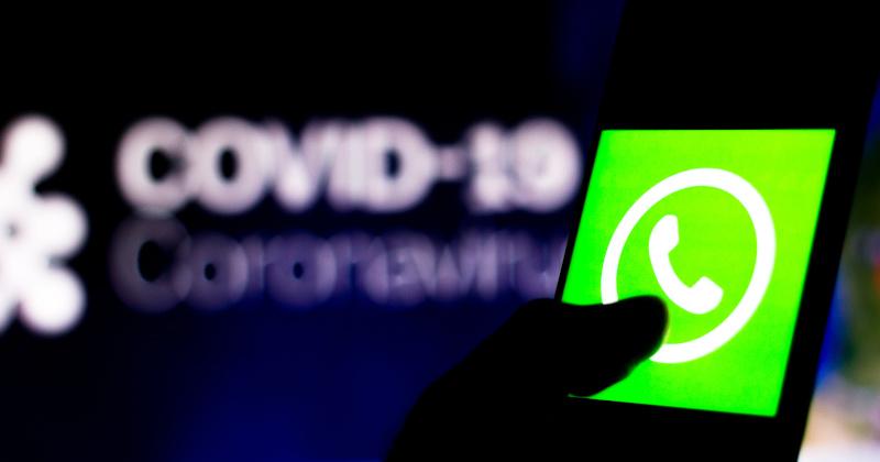 WhatsApp Censoring Coronavirus 'Misinformation'