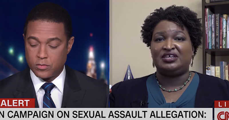 'I Believe Joe Biden': Stacey Abrams Declares Sexual Assault 'Did Not Happen'