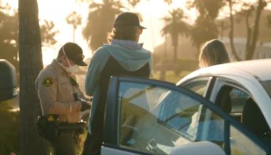 San Diego Police Ticket Dozens For Watching Sunset On Beach
