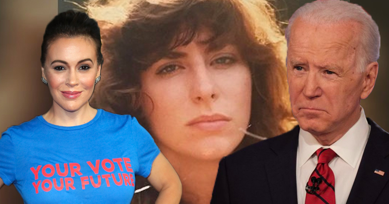 """Alyssa Milano """"Hears, Sees"""" Tara Reade Sex Assault Claims Against Joe Biden"""