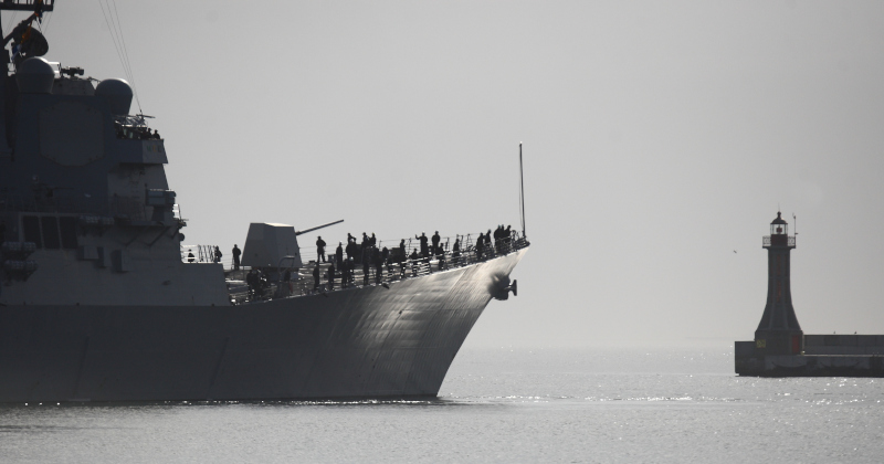 Another Navy Destroyer Crippled By Coronavirus Outbreak