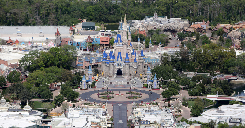 Disney World Furloughs 43,000 Workers