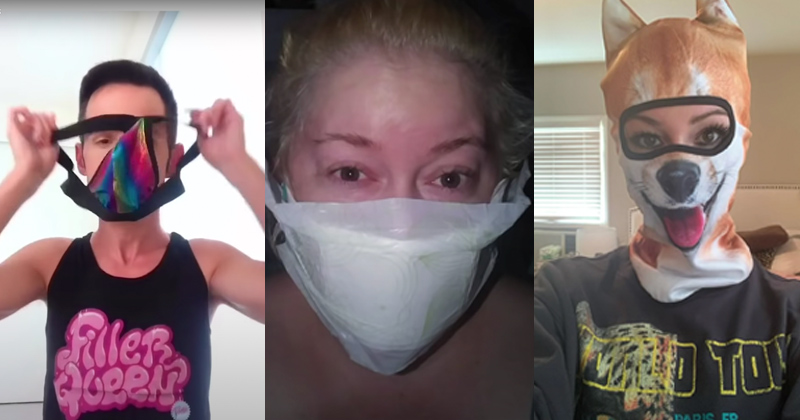 Vice Suggests Using MaxiPads, Jock Straps as Face Mask Alternatives