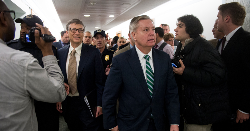 """Lindsey Graham Says He Would Support W.H.O. """"If Someone Like Bill Gates Were In Charge"""""""