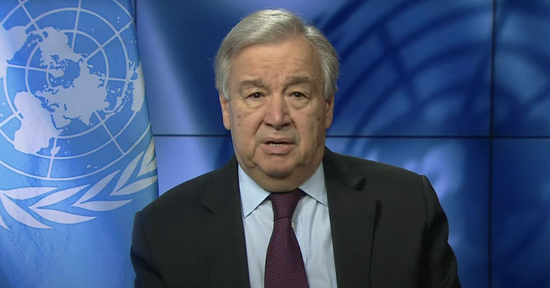 UN Chief Says Pandemic Must Be Used To Deindustrialize West, Transition To Green Energy