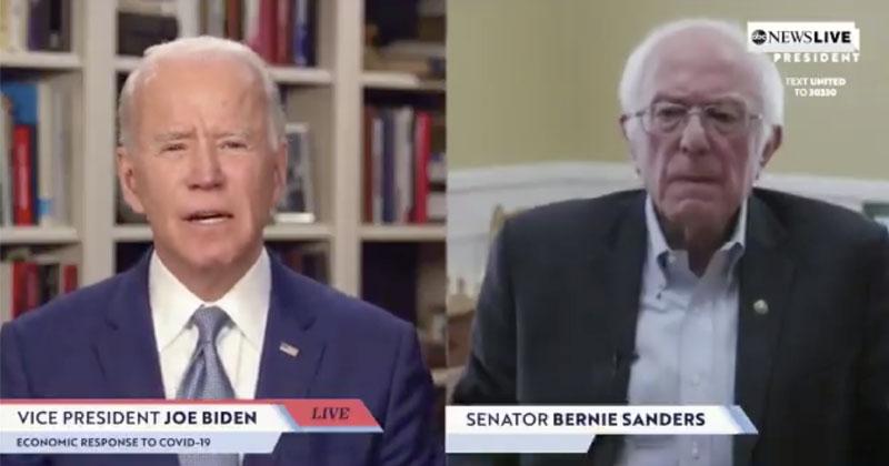 Bernie Endorses Biden For President