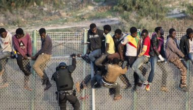 Hundreds of Migrants Storm Border of Spanish Enclave In Africa