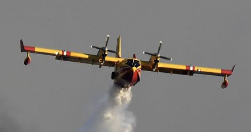 "Spain ""Authorizes"" Military Planes To Spray Disinfectants Over Cities"