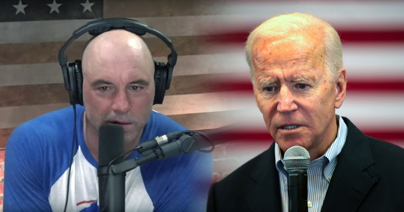 "Joe Rogan Says Biden ""Clearly in the Throes of Dementia"""