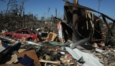 Family Not Wearing Face Covers Barred From Storm Shelter During Deadly Tornado