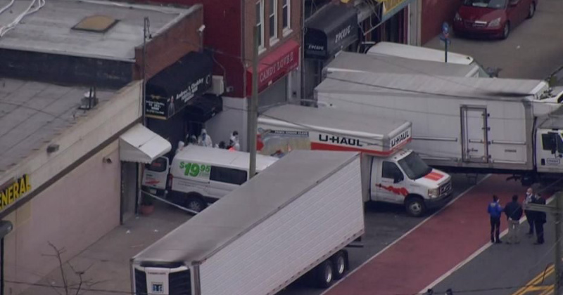 Dozens of Decomposing Corpses Found In Non-Refrigerated Trucks at NYC Funeral Home