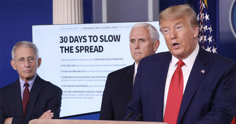 Watch: President Trump Mulls Second Task Force To Oversee Economy Reopening — April 4