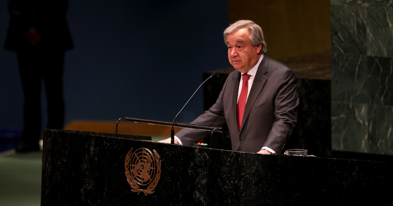 "UN to Launch Propaganda Campaign Combating Virus ""Misinformation"""