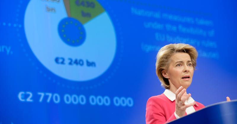EU Chief Proposes Coronavirus 'Marshall Plan' Amid Concerns Bloc Could Break Up